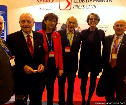 Skal internacional entrega reconocimiento turismo 2015 al Sr Abel Matutes por su trayectoria en Fitur 2016